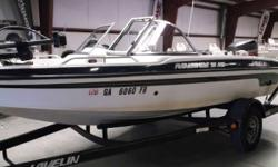 PRICE INCLUDES: 1999 JOHNSON 150 PLEES 1999 JAVELIN TRAILER STAINLESS STEEL PROP OMC 24V FOOT CONTROL TROLLING MOTOR LOWRANCE HOOK 5 ZERCOM FLASHER 3 BATTERIES - 1999 RENEGADE 18FS Nominal Length: 18' Stock number: 56126A