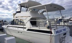 Huge Price Reduction! Chance to purchase a well built triple cabin aft deck motor yacht. Riviera is Australia's largest boat building company. Admired for quality, style and sea keeping abilities.The Platinum Edition 40ft Aft Deck features triple