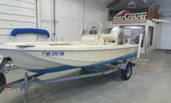 Nice center console ready to fish! Powered by 90hp Honda. Trades considered. CANVAS BIMINI TOP DECK ANCHOR W/LINES BOW CUSHION AVAILABLE ELECTRONICS FISH FINDER LORAN/GPS FISHING LIVE WELL (2) MECHANICAL BILGE PUMP FIRE EXTINGUISHING SYSTEM STOCK# B15401