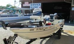 1999 Sea Nymph 140 Johnson 30hp This is a great fishing boat in excellent condition and ready for the fish! This deep-v package includes a Johnson 30hp electric start motor, NEW Lowrance Elite 5 DSI sonar/fish finder unit, VHF radio, three fishing seats,