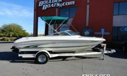 1999 Sea Ray 185 Payments as low as $162 / mo. * The 185 is the quintessential bow rider design. Though her layout is traditional, her styling and lines are very much contemporary. Other key features include a huge insole locker for skis and boards,