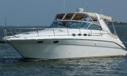 Very Clean, well maintained vessel. she has all the factory upgrades, and extras. Owner is pursuing other interest for now. For years, Sea Ray has dominated the market for midcabin cruisers with their state-of-the-art styling and innovative