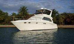 """*****PRICE REDUCED 3/2017 - OWNER SAYS SELL*****  """"MECCABUCKS"""" is a well kept vessel with a long list of upgrades including: Satellite TV, Underwater Lights, Remote Surveillance System w/ Cameras, BOSE Sound + Much More!!  Easy to See 7"""