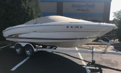 Come see this nice 21ft boat. This boat has everything you need to spend all day on the water with the family. Call today to set up an appointment. Trades Considered. General Options BA0079B BIMINI TOP DEPTH FINDER MOORING COVER STANDARD USED BOAT POLICY