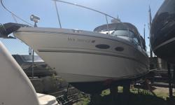 Perfect first boat for one who wants to start big water boating. This nicely maintained 290 Sundancer features Radar, Chart Plotter, Underwater Lighting, Twin 5.0LMPI Power, camper canvas and much more. For more info, please call today. Trades considered.