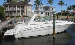 MAJOR PRICE REDUCTION -- OWNER SAYS SELL1999 38' Sea Ray Sundancer -- Excellent Condition -- Turn-Key from Bow to Stern *****346 Original Hours on Vessel +Hydraulic Swim Platform & Garmin Electronics*****Key Features;346 Hours on Vessel since New;Port
