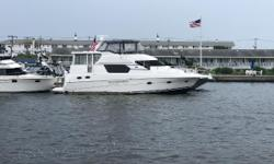 Custom Aft Cockpit Air Conditioning Upgraded Cummins6CTA 8.3 450hp w/ 483Hrs KOHLER 13.5 Generator w/ 991Hrs Bow Thruster Upgraded TV's throughout w/ custom cabinetry to finish the look properly. Custom Cabinetry in
