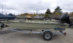 1999 Tracker Grizzly 1648 - Mercury 25HP 4ST - Moonshine Trailer ** This package includes boat, motor, and trailer. **  Nominal Length: 16' Engine(s): Fuel Type: Other Engine Type: Outboard Stock number: 11211