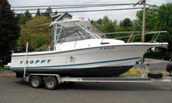 1999 Trophy Sportfishing Boats Trophy 2509 OUR 40TH ANNIVERSARY FALL CLEARANCE EVENT IS GOING ON NOW - HUGE SAVINGS! Was $25,995 ... Now only $19,995 blowout firm. Such a crazy cheap find - We can't believe it's still here. Huge $6,000 price reduction