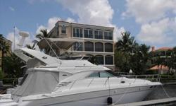 2002 Sea Ray 400 SEDAN BRIDGE New brokerage listing. A very clean boat located in Ft Myers, with preferred Cummins power. Boat can be seen by appointment. For more information please call: (888) 860-3588 or call us toll-free at: (888) 510-8204 and