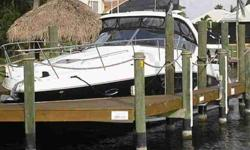 2008 Sea Ray 380 SUNDANCER ELEGANT & SPORTY BLACK HULL 38O SUNDANCER: Offered by her original owner, low hours and maintained with an open check book. Amenities include full Galley and Head, well appointed Salon, Master & Guest Staterooms, AC/Heating,