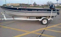 I have 4 16 fishing boats for sale. All aluminum with nice motors. 1 is a 1981 Lund Pike, 1988 Sylvan with full windshield, 1984 Blue Fin, and another 1988 Sylvan Back Troller tiller. The 1st 3 have steering counsles. I also have plenty of motors too.
