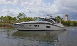 2010 Sea Ray 58 SUNDANCER EXTENDED WARRANTY ON ENGINES & BOATNew brokerage listing A highly customized 58 Sea Ray Sundancer with the preferred 900 CRM MAN power with only 420 hours. Pay special attention to the aft enclosure that was custom designed and