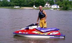 1996 Kawasaki 1100zxi. 120hp, 2 person, Its on a single yacht club trailer. The motor needs a new middle piston, the other two are fine, but could use maybe new rings. The motor is out and dissaaembeled now, the crank is fine, and I have a complete gasket