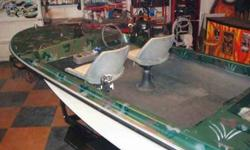 Camo boat with fish finder and trailer. Doesnt start anymore dont know why, Im moving and could use a car trailer. It is a sea king boat with a mercury 500 motor and eagle fishfinder.7two08zero05twoone4.