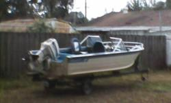 1976 Starcraft bo Rider, 1986 70 horsepower Johnson Boat is in good shape and the engine runs strong