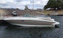 2009 Crownline Deckboat 260EX MAKE OFFER! THIS IS A MUST SELL CALL JERRY COOKSON TODAY! 2009 Crownline 260EX Deckboat! Big enough to bring your family and a few friends as well! The 260 EX is built on our exclusive F.A.S.T. Tab hull. Both boats feature