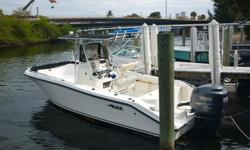 Great 23ft Mako, with updated engines that are still under warranty. Forward seating, and outriggers make this a great boat for a day on the water. Please submit any and ALL offers - your offer may be accepted! Submit your offer today! We encourage all