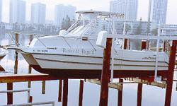 PRICE LOWERED!! Power catamaran with twin 150 Suzuki outboards in excellent condition. 26.5 ft. Comes with electric down-rigger, refrigerator/freezer, VHF, GPS/fish finder/depth sounder, raw water wash down, fresh water, electric head, twin batteries with