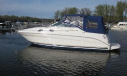 2000 Sea Ray 260 Sundancer Call Boat Owner Matt @ 402-689-8344. 2000 Sea Ray Sundancer 260- approx 28' long overall. Second Owner...Always used freshwater in Omaha on River or Missouri Lakes OzarksTable Rock. 7.4 Bravo III, AC, new bottom paint, upgraded