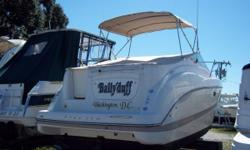 """This is a very nice 27 foot Maxum, powered by a MPI 7.4. She comes with a full enclosure, Bravo 3 drive, AC, Gas stove, microwave, trim tabs, and 6'4"""" headroom. This boat is all you will need for day cruising or overnighters. This boat is in great shape"""