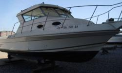 OWNER WANTS IT SOLD. KEPT INSIDE DRY STORAGE. NO TRAILER. NO GENERATOR This vessel has been designed with the Captain/fisherman in mind. It's fiberglass hardtop is perfect with a freshwater cooled MerCruiser 7.4 MPI,and Bravo III is ready to take you and