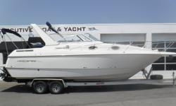 PRICE JUST REDUCED TO $36,990!! Twin MerCruiser 5.0L V8 engines, aprx 416 & 351 hours Twin MerCruiser Bravo III dual-prop sterndrives w/stainless steel props 2010 Ace 2-axle aluminum trailer w/surge brakes (brakes replaced & repacked ? in 2015) New