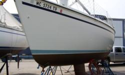 1990 HUNTER Vision 32, Very Well Maintained 1990 Hunter Vision 32 Sloop Rigged Sailboat. Options Include: Yanmar 27 H.P. Diesel W/ Heater. Auto Pilot, Compass, Depth Finder, GPS, VHF, Spotlight, CD Stereo System, T.V., Hot/Cold Pressure Water, Shower,