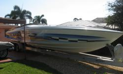 Description 2000 38' Wellcraft Scarab w/ Cuddy Cabin --- Priced to Move!! Easy to See in Delray Beach FL 7 days a week! You'll get where you are going FAST with Twin 500EFI Mercruiser Racing Engines. Super Clean Engine Compartment! She has a Great Looking