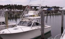 JERSEY MARINE YACHT SALES IS THE CENTRAL LISTING AGENT. CALL FOR DIRECT PRICING. NO SANDY DAMAGE, BOAT WAS SAFELY IN SOUTH JERSEY DURING THE STORM. Price was just dropped another 4k!! Built by serious fisherman for serious fisherman. There is no