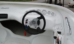 Features: MerCruiser 454 MPI- 310HP Thru-Hull Exhaust Electric Engine Hatch Dual Controls w/ Trim in Handle Painted Tandem Axle Trailer w/ Surge Brakes and Aluminum Wheels Please call for more information!  Beam: 8 ft. 4 in. Stock number: BPOW41123
