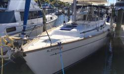 Another price reduction in time for Labor Day Weekend! These owners have taken delivery of their brand new Beneteau, and have decided they no longer need two sailboats. Come see this gorgeous yacht in person, make an offer, and sail away! A true blue