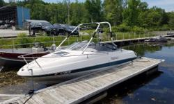 This is a great first boat. This 2000 Bayliner has a wakeboard tower, 5.0L engine, and trailer. This boat is being sold for a friend of Woodard Marine. Contact Vince Allo at 802 342 0447 or email vincentallo@iheartmedia.com Nominal Length: 21'