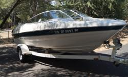 2000 Bayliner Marine 1850 DX BR CS Bought new in 2000 Taken exceptional care of the boat Boat is clean and good looking condition with a few minor surface scrapes Bimini AM FM radio Unit is located in Auburn CA. Financing Nationwide Shipping and