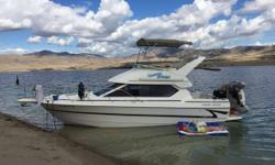 2000 Bayliner 2858 7 foot hard bottom dinghy with a 15 horse mercury has fully enclosed canvas (10 years old) This boat is in very good shape and has a brand new 502 500 HP engine New manifolds installed by certified mercury mechanic has plenty of power