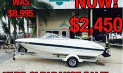 2000 Bayliner CAPRI 1750 Location: Marrero, LA, US 3.0 Mercruiser in/out custom fit trailer Was $4995 , now ONLY $2995! This boat features: ? Eagle fish finder ? Custom fit trailer with spare and tongue jack radio ? Economical Mecruiser 3.0 4cyl