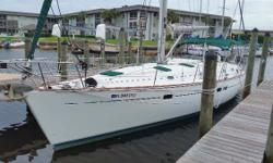 (LOCATION: New Port Richey FL) The Beneteau 411 has classic Beneteau style and luxury. The Groupe Finot designed her to be a performance cruiser with upscale accommodations. Planning a weekend getaway or a cruise to the islands? This 41' Beneteau is