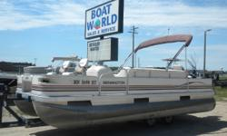 2000 Bennington 200S & 70HP Evinrude 4-Stroke EFI Outboard. Motor Runs Great! This 20' Fish Pontoon Features Front Swivel Fishing Seats, Wrap Around Bench Seating With Lots Of Storage, Two Rear Swivel Fishing Seats, Rear Live Well, Bimini Top, Multiple