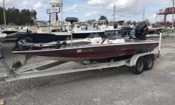 GREAT DEAL!! 2000 Blazer Boats 202 PRO V VERY CLEAN!!! This Blazer 202 PRO V is one of the cleanest boats that you will see! Very well taking care of, with near perfect vinyl carpet etc. Included in the price is a nice tandem axle aluminum I beam trailer,