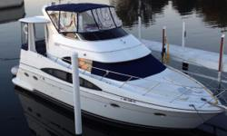 Beautiful boat! Very clean! Ready for spring launch!!  Nominal Length: 40' Max Draft: 3.5' Engine(s): Fuel Type: Other Engine Type: Inboard Draft: 3 ft. 6 in. Beam: 13 ft. 11 in. Fuel tank capacity: 330 Water tank capacity: 100