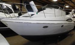 Very nice, clean and low hour 350 Mariner. Kohler generator and twin 7.4 MPI Mercruisers will get you around the lake comfortably. Trades considered. CANVAS AFT DECK BIMINI TOP BRIDGE ENCLOSURE (BLACK) DECK ANCHOR DAVIT ANCHOR W/LINES BACK ARCH BOW PULPIT
