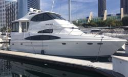 """""""KNOW FUN"""" is a gently used 506 Carver. Likely the largest 50' Motor Yacht, with 3 staterooms and 3 heads. Huge fly bridge with lots of seating. The rear deck is huge with lots of seating. The salon and galley area are spacious with large windows for lots"""