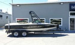 Clean V Drive Air Warrior by Centurion 2000 Centurion Air Warrior 22 Ft V Drive *350 Mercruiser Fuel injected inboard *Custom Boat Cover *Custom Wake Tower *Tower Speakers *Wake racks *Upgraded stereo w/ amp & sub *Ballast *Heater *Shower *Rear view
