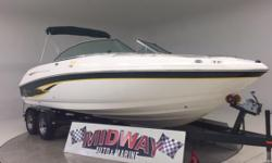 This is a 9.5!!! Super clean!! Only 450hours! Thats and average of only 26 hours per year! Chaparral only made 10 of these 230 SSI's with the 385HP Fuel Injected Motor! We just installed a brand new waketower!  This is