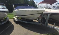 Nice Clean Freshwater Cobalt Bowrider with Mercruiser 350 Mag and Bravo 1 Outdrive.  Comes with Galvanized Trailer! Bimini Top CD Stereo Bow and Cockpit Covers Stainless Steel Prop Snap in Carpet Nominal Length: 23' Length Overall: 22.7' Engine(s):