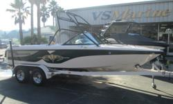 One of the most iconic wakeboarding boats of its time with classic Nautique style. This boat is super clean, freshly serviced and ready to go. Give Shawn a call for more details (805) 466-9058 or email shawn@vsmarine.com Engine(s): Fuel Type: Gas Engine