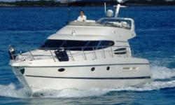 SHE HAS (3) STATEROOMS WITH AN OPTIONAL CREWS QUARTERS IN THE STERN AND TWO FLOOR TO CEILING SPIN AROUND ENCLOSURE SHOWERS(VERY USEABLE WITHNO MESS) 2 FULL HEADS.     .     Nominal Length: 48' Length At