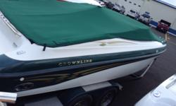 SPORT BOAT WITH TRAILMASTER TRAILER