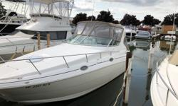 This boat feels larger than it is. 10 feet beam makes it spacious and improves the ride. Updated extended swim platform, new cockpit carpet. Twin 5.0L V8's and air conditioning. Well equipped, low hour boat. Trades considered. Engine(s): Fuel Type: Gas