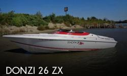 Actual Location: Omaha, NE - Stock #093314 - Powerful boat!This 2000 Donzi 26 ZX is easily trailerable, so you can race it offshore whenever the need for speed arises, and also take it to the lake for use as a family boat.While some sportboats are